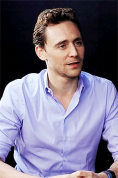 gif :).  More of the Hiddleston full body laugh.