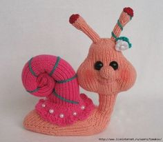 1000+ images about Knitted Stuffed Animals, etc on Pinterest Knitting patte...