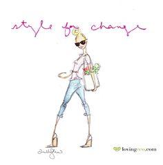 Dallas Shaw for loving eco | Dallas Shaw #fashion #illustration