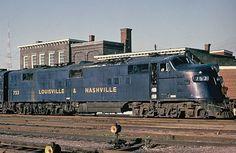L&NRR E-6 in Louisville yard