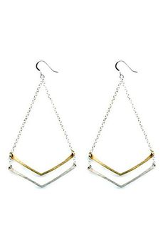 Contemporary storefront and online boutique specializing in apparel, accessories, shoes, jewelry and gift items for men and women. Chevron, Arrow Necklace, Style Inspiration, Earrings, Accessories, Jewelry, Ear Rings, Stud Earrings, Jewlery