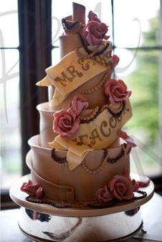Mr and Mrs cake :)