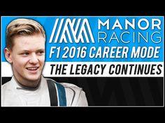 F1 2016 MICK SCHUMACHER CAREER MODE TEASER! - YouTube