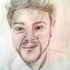 Un ritratto di mio idolo!!! Un retrato de mi ídolo!!! #Disegno #Drawing #Dibujo #Sonohra #DiegoFainello #Italia #Cantante #Cantanti #Retrato #Enproseso #Incorso #Ritratto #Arte by #Anystart