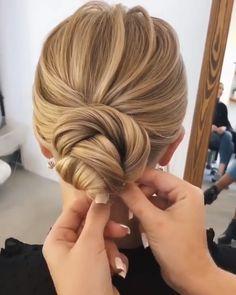 oksana_sergeeva_stilist wedding updo hairstyles -  - diy wedding updo hairstyle tutorial