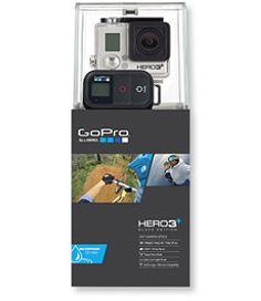 #LLBean: GoPro Hero 3+ Black Edition Camera; $400