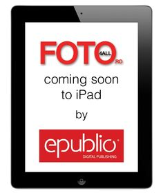 FOTO4ALL magazine is coming soon to iPad by epublio