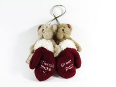 New Boyds Bears Friends Make A Great Pair Christmas Ornament #56715 Retired #Christmas