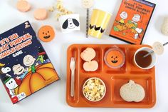 It's the Great Pumpkin, Charlie Brown Viewing Party. This is such an adorable idea to do every year! #halloween #charliebrown #peanuts
