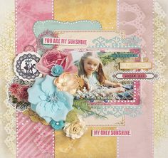 {You are my sunshine} *Glitz Design* - Scrapbook.com