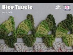 Na aula de hoje a Professora Simone ensina a confeccionar o Bico tapete Crochê, para decorar seus tapetes e trabalhos em crochê ▶ INSCREVA-SE: http://goo.gl/...