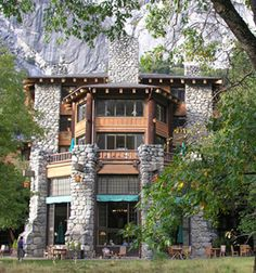 The Ahwahnee Hotel, Yosemite National Park - reported to be haunted by a woman instrumental in the hotel's development, who haunts the sixth floor. Activity also reported on the third floor.