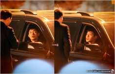 Kim Hyun Joong 김현중 Shooting for Inspiring Generation by MURDERERQ [March 24-25,2014] - just look at how animated HJ was.. hehe