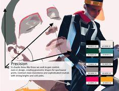 Precision color trendboard for Spring 2014 . Tendencias color primavera 2014 #coolhunting