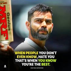 Virat sir quotes Inspirational Quotes About Success, Motivational Quotes, Virat Kohli Quotes, Virat Kohli Wallpapers, Virat And Anushka, Best Whatsapp Dp, Barbie Images, Stupid Quotes, Forever Quotes