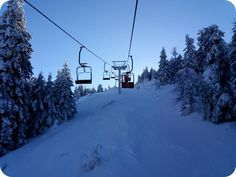 Telescaunul 2 din Straja printr-un peisaj de poveste Skiing, Snow, Holiday, Outdoor, Ski, Outdoors, Vacation, Holidays, Outdoor Games