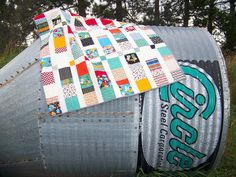 another great quilt by Life on the Selvage Edge