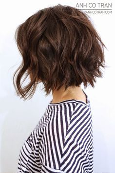 Wavy Short Bob Hairstyles