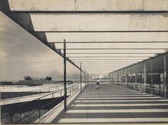 Affonso Eduardo Reidy. Museum of Modern Art of Rio de Janeiro (MAM), Rio de Janeiro, Brazil, 1934-1947. ©Núcleo de Documentação e Pesquisa – Faculdade de Arquitetura e Urbanismo da Universidade Federal do Rio de Janeiro.
