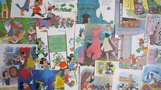 vintage Disney ephemera for junk journals by BurkeSevenVintage