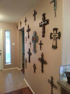 Decorative Crosses For Wall i want to start a cross wall - maybe one at home and one at the