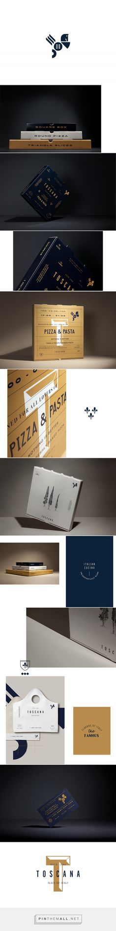 Toscana Branding on Behance... - a grouped images picture - Pin Them All