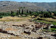 Ruins of Zakros palace. Zakros is a site on the eastern coast of the island of Crete, Greece, containing ruins from the Minoan civilization. The site is often known to archaeologists as Zakro or Kato Zakro.