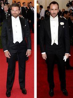 White tie, MET gala