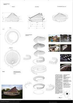 Serpentine Gallery Pavilion 2007 by Olafur Eliasson and on Behance Architecture Concept Diagram, Futuristic Architecture, Architecture Plan, Glass Pavilion, Pavilion Design, Serpentine Gallery Pavilion, Temporary Architecture, Section Drawing, Passive Design