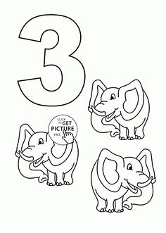 number 3 coloring pages. Number 3 coloring pages for kids  counting sheets printables free Wuppsy com Free Printable Coloring Pages For Kids and