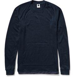 NN.07Villum Shell-Trimmed Merino Wool Sweater
