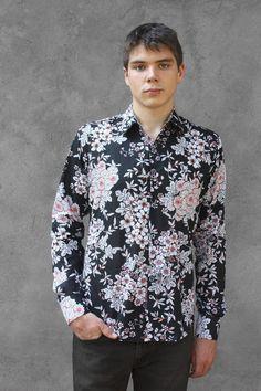 Chemise a fleur homme - Kimono - BAÏSAP