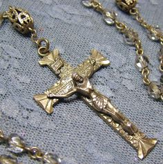 Sterling Rosary by Creed