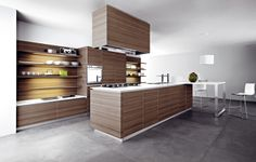 #kitchen Ariel by Cesar Arredamenti Spa - Functional and elegant, versatile and extrovert, minimalist and innovative, #wood