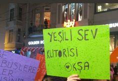 Yürüyüşlerin değişmez adresi İstiklal Caddesi'nde, 8 Mart Dünya Kadınlar Günü nedeniyle kalabalık bir etkinlik gerçekleşti.