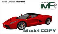 Ferrari LaFerrari F150 '2014 - 3D Model (3ds, 3dm, dwg, igs, max, obj, stl, ipt, ma)