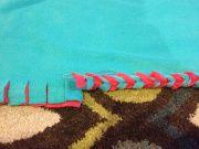 No-sew double layer Braided Edge fleece blanket