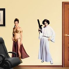 Star Wars Princess Leia Wall Graphic * You can get more details by clicking on the image. (This is an affiliate link and I receive a commission for the sales)