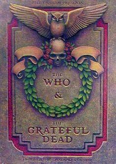 The Who, Grateful Dead