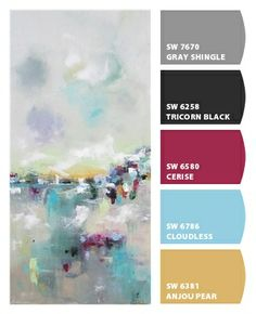 Paint colors from Chip It! by Sherwin-Williams. Picture by Linda Donohue.Chipcard by Reni Apostolova.