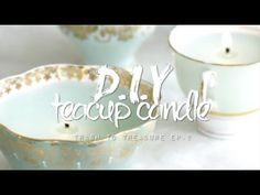 D.I.Y Teacup Candle | Trash to Treasure Ep.2
