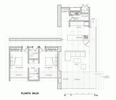 plano casa una planta 3 habitaciones - Buscar con Google ...