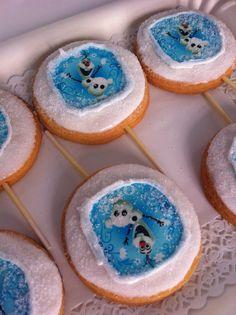 Biscolecca Frozen theme!
