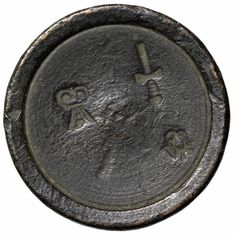 "Item specifics   Seller Notes: ""Great Britain, London, 1702-1714 AD, Post Medieval, Queen Anne Lead Trade Weight. Dark toned lead in color, reverse adjustment marks. Size: Approx. 25mm, Weight: 13.76gms, Grade: Circulated""      									 			Country/Region of Manufacture:  ..."