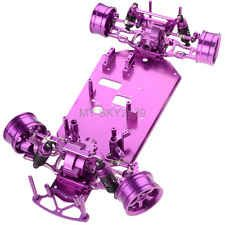 1:10 RC Model HSP Racing 94102 On-Road Drift Touring Car Purple Alloy Body frame