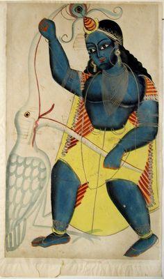 Indian Epics: Images and PDE Epics: Krishna Killing the Crane-Demon