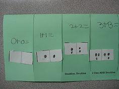 flip book- math doubles facts