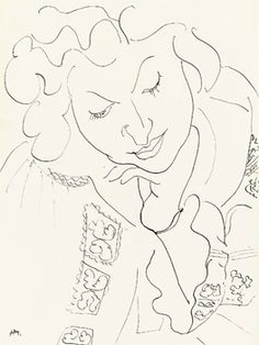 """""""Romanian Blouse"""" paintings by Henri Matisse (1940)"""