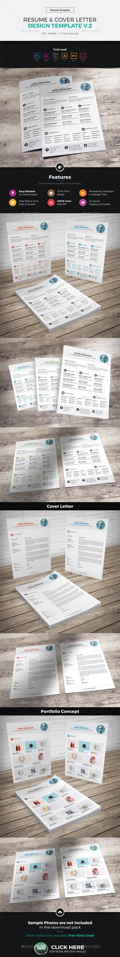 Free Clean Dark Resume Mockup (AI Mockup and Dark