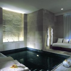 Mandarin Oriental New York Spa_ by HBA Hirsh Bedner Associates _